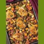 One Pan Autumn Chicken Dinner Recipe